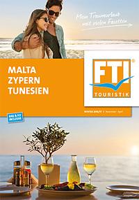 Malta, Zypern, Tunesien - Winter 2016/2017